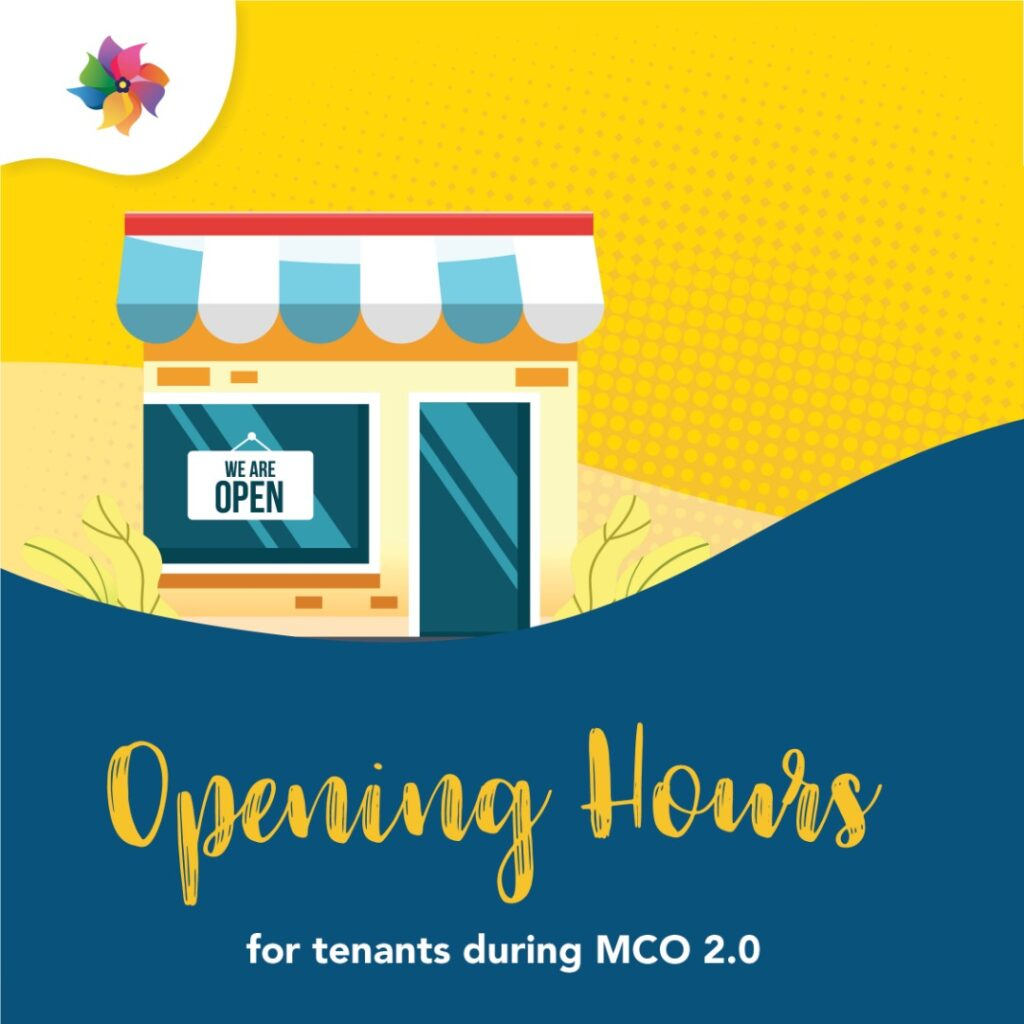 NWP Tenants Operating Hours